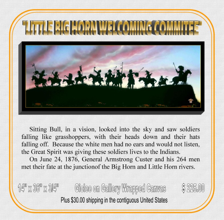 """Little Bighorn Welcoming Commitee"""