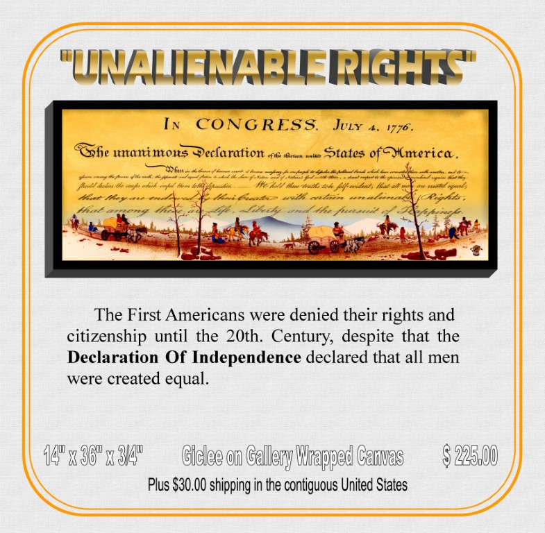 """Unalienable Rights"""